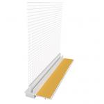 EJOT PVC logu profils ar sietu 108 plus 2.4m
