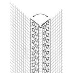 EJOT PVC Stūra profīls ar maināmu lenķi 2,5m