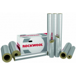 Rockwool 800 cauruļu izolācija (čaulas) 20 mm