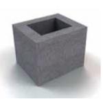Vienkanāla bloks 20x24cm