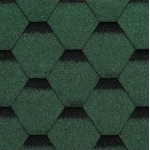 Technonicol Shinglas Rock Hexagonal bitumena šindeļi(dakstiņi)