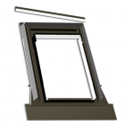 pieslēgums profilētiem jumta segumiem (līdz 45mm)