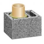 Schiedel dūmvada bloks