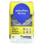 Weber floor 110 FINE pašizlīdzinošais grīdas līdzinātājs