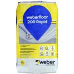 Weber.floor 200 RAPID grīdas pašizlīdzinošais maisījums