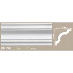 Putuplasta griestu līste LX-150 110x110mm