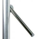 Nerusējoša tērauda stienis 10mm