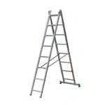 Kombinējamās kāpnes 2-daļīgas