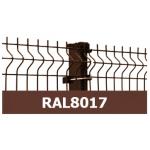 Žoga panelis 3D 50*200/4mm, ZN/KRĀSOTS, UV, RAL8017
