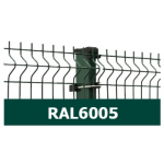 Žoga panelis 3D 50*200/4mm, ZN/KRĀSOTS, UV, RAL6005