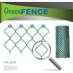 Žoga siets pārklāts ar PVC(zaļš)