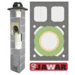 JAWAR Universal Plus dūmvads ar 2 ventilācijām