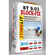 Stimelit ST 9.03 līme gāzbetona blokiem 25kg (balta)