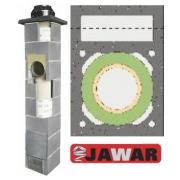 JAWAR Universal Plus dūmvads ar ventilāciju